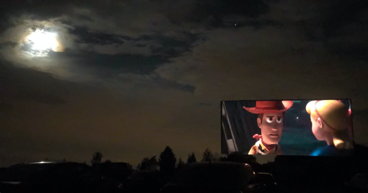 Go to the drive-in movies for a safe Halloween during COVID